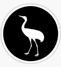 Crane Sticker