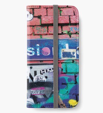 Hosier Lane iPhone Wallet/Case/Skin