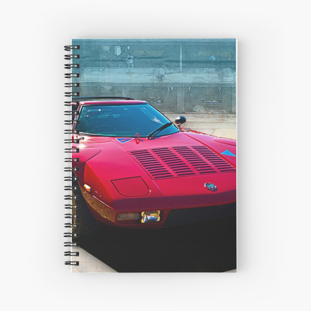 Lancia Stratos Spiral Notebook