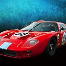 Red GT40 by Stuart Row