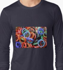 colorful rings as background T-Shirt