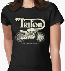 Caferacer Women's Fitted T-Shirt