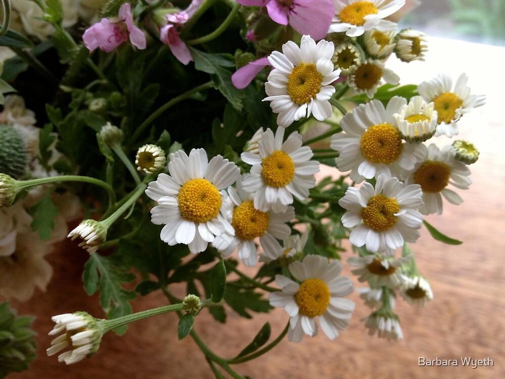 Happy Summer Flowers by Barbara Wyeth