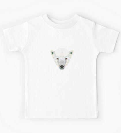 Triangle Pixels - Polar Bear Kids Clothes
