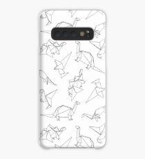 Origami Dinosaurs Case/Skin for Samsung Galaxy