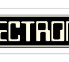 Electronica music Sticker