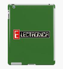 Electronica music iPad Case/Skin