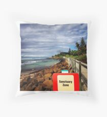 Sanctuary Zone Throw Pillow