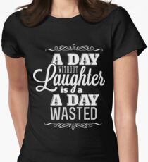 Laughter Women's Fitted T-Shirt