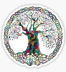 TREE OF LIFE - night garden Sticker