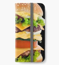 Hamburger iPhone Flip-Case/Hülle/Skin