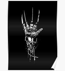 Póster Freddy Krueger | Garra Steampunk