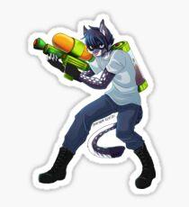 Sneak Cat McGee Sticker