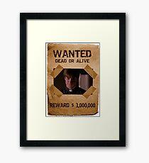 Buffy Caleb Nathan Fillion Wanted 1 Framed Print
