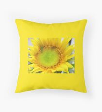 Sunny Sunflower Tote Bag  Throw Pillow