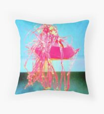 Slang Volcano Pillows & Tote Bags Throw Pillow