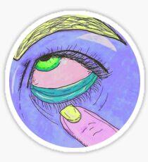 Grunge Annoyance Sticker