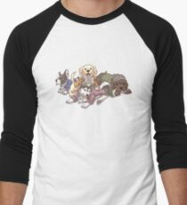 Hamilton Musical x Broadway Dogs Men's Baseball ¾ T-Shirt