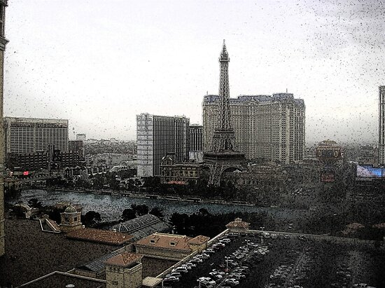 Las Vegas From My Window by tvlgoddess