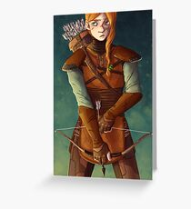 Leather Armor Greeting Card