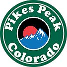 PIKES PEAK COLORADO MOUNTAINS EXPLORE HIKING CAMPING HIKE CAMP  by MyHandmadeSigns