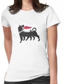 Dragon Dog Womens Fitted T-Shirt