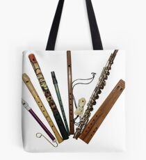 Flutes of the World Tote Bag