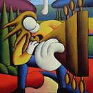Guitar man by Alan Kenny
