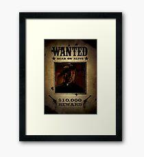 Buffy Caleb Nathan Fillion Wanted 4 Framed Print