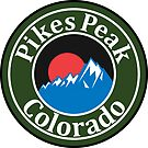 PIKES PEAK COLORADO MOUNTAINS EXPLORE HIKING CAMPING HIKE CAMP MOUNTAINS SUN by MyHandmadeSigns