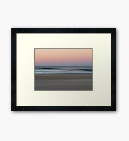 Kingscliff at Dusk Framed Print