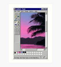 Lámina artística MS Sunset