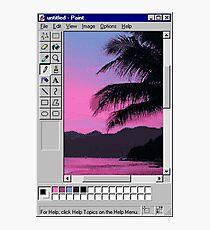 MS Sunset Photographic Print