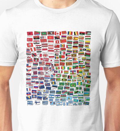 World Flags Unisex T-Shirt