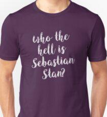 Who the hell is Sebastian Stan? Unisex T-Shirt