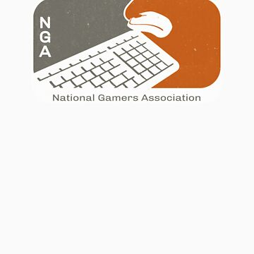 National Gamers Association (retro) by BGWdesigns