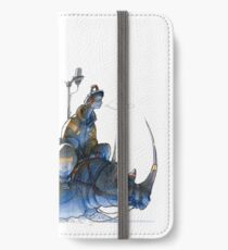 Riding the Snow Rhino iPhone Wallet