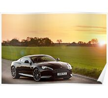 Aston Martin DB9 Carbon Black Edition ... Poster