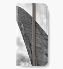 Gateway Arch - Study in Steel iPhone Wallet