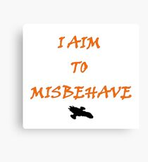 Firefly - I Aim To Misbehave Canvas Print