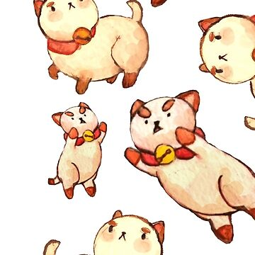 Raining Puppycats by TotoroTeser
