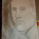 Male Head/Copy -(310516)- Pencil/A4 sketchbook by paulramnora