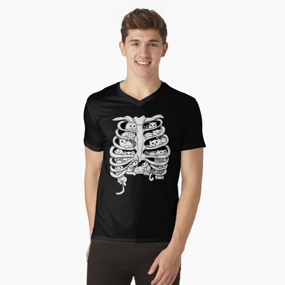GATOS Camiseta de cuello en V