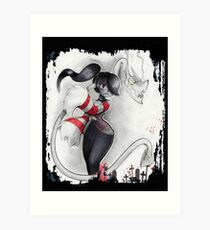 Squigly ~Mezzo Sorprano~ Art Print