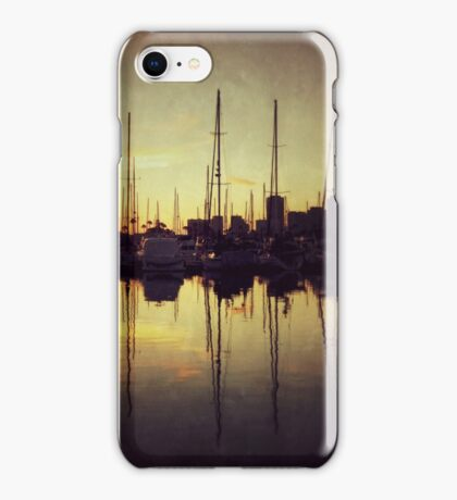 Marina Bay Lines iPhone Case/Skin