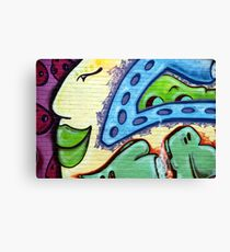 Graffiti Beauty Canvas Print