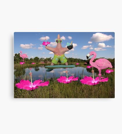 Tropical Dance Canvas Print