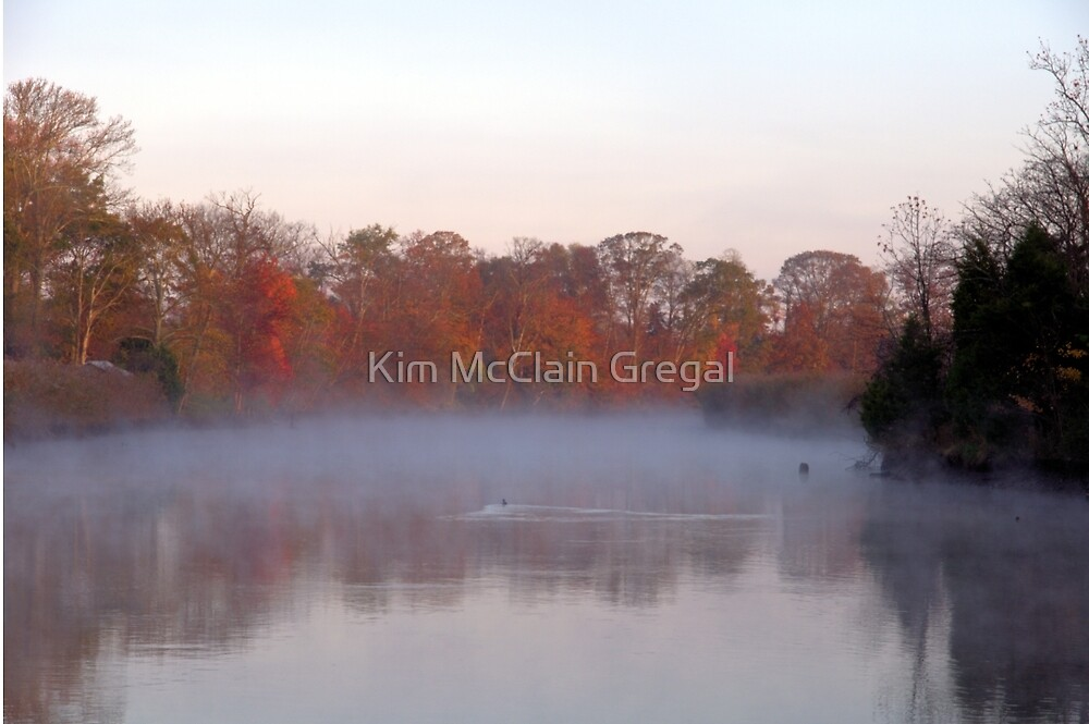 Foggy Morning by Kim McClain Gregal