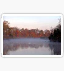 Foggy Morning Sticker