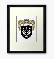 O'Donnell Coat of Arms/Family Crest Framed Print